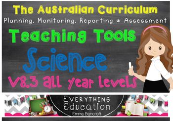 F-7 Science v8.3 Australian Curriculum BUNDLE by Emma Bancroft   Teachers Pay Teachers