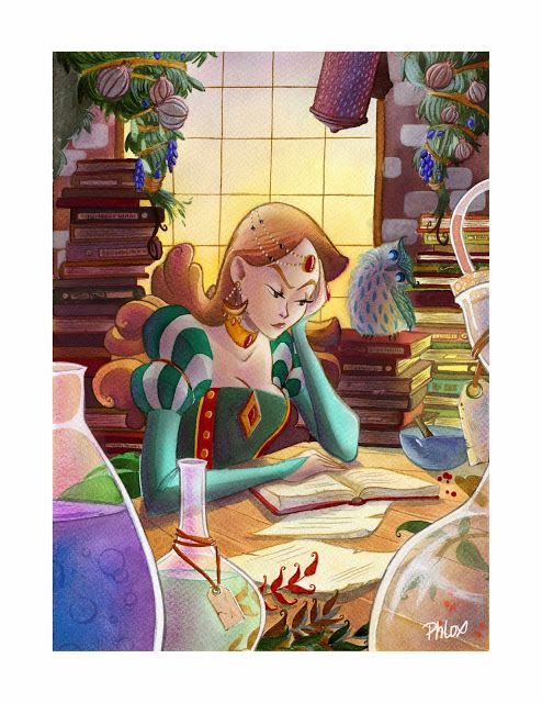 illustration by Marine Gosselin (phlox)