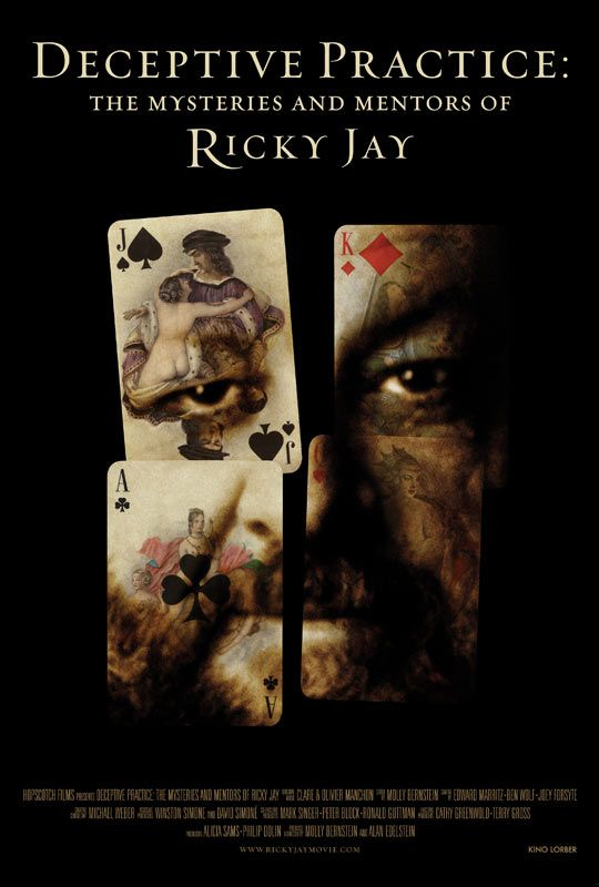 Deceptive Practice: The Mysteries & Mentors of Ricky Jay Poster - #127542