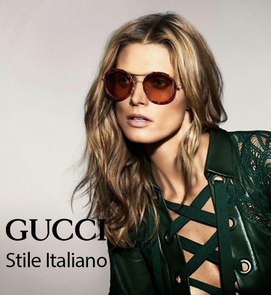 Stile Italiano, #artigianato tradizionale, coscienza globale. GUCCI. http://bit.ly/1NqjabE #madeinitaly #occhiali #sunglasses #italianstyle