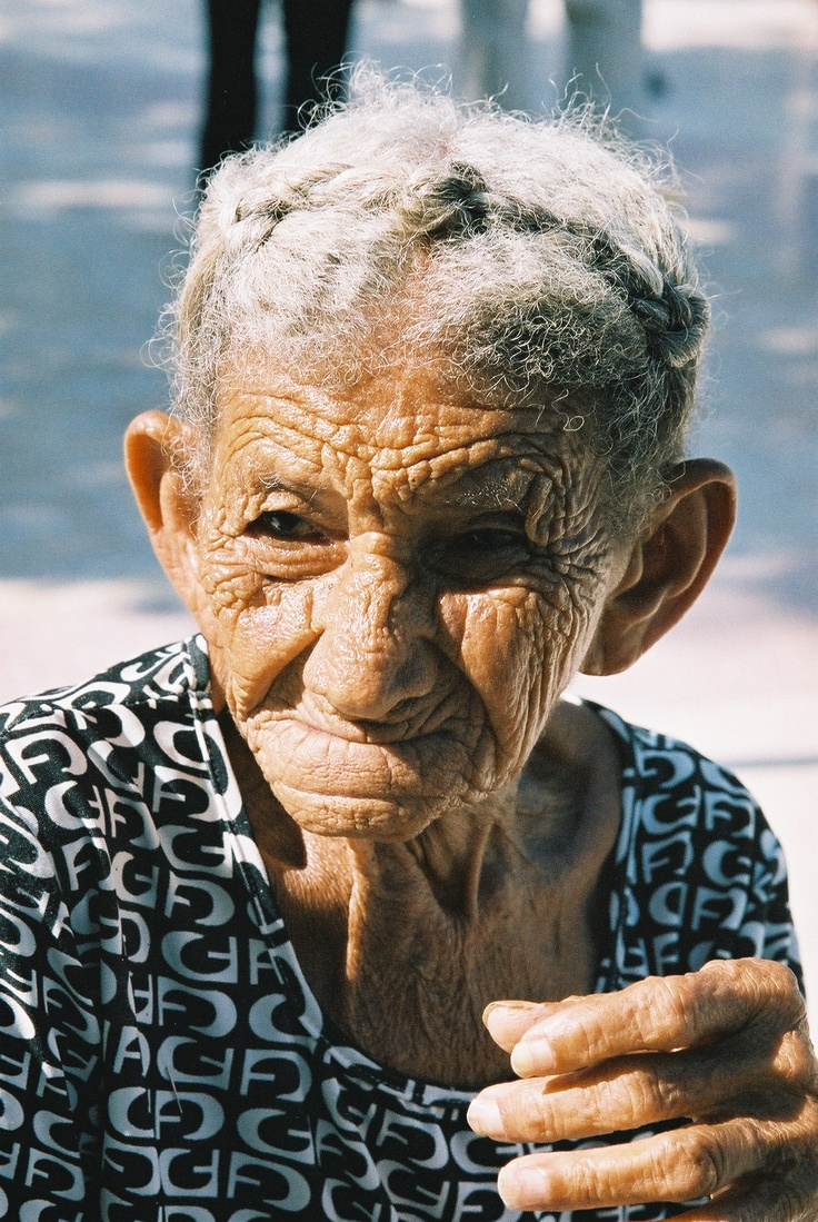 Camaquey old woman