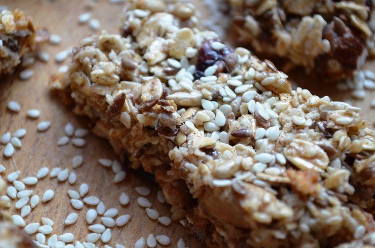 Taste me! Eat me!: Crunchies - batoniki samoziarniste