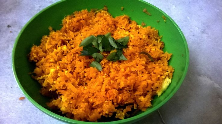 Carrot Thoran| Grated Carrots and Coconut Recipe