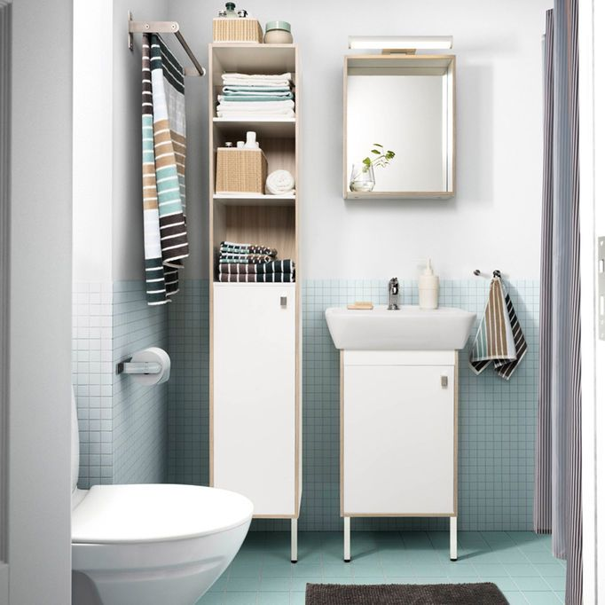 10+ Ideas About Blue Brown Bathroom On Pinterest
