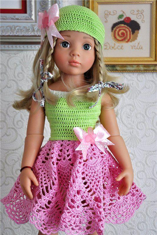 Летние наряды на девочек Готц 50 см / Одежда для кукол / Шопик. Продать купить куклу / Бэйбики. Куклы фото. Одежда для кукол