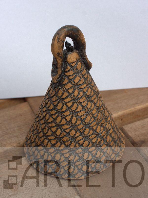 Zvonek z keramiky