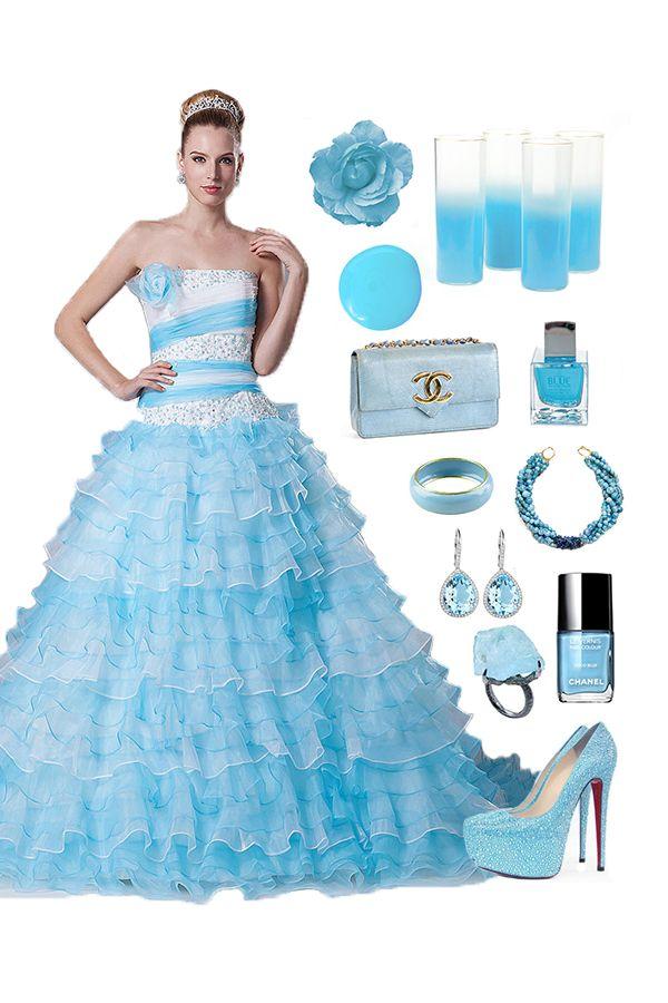 Gorgeous Appliques Layered Dress #cherishdress#. If u are interested please clickt to http://www.cherishdress.com/