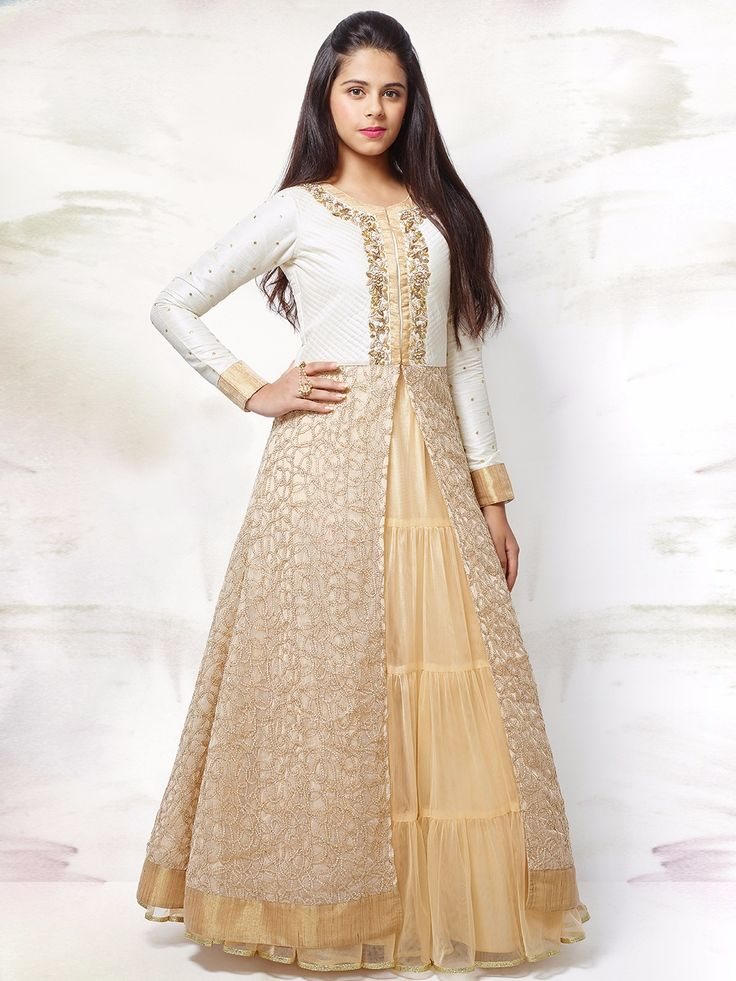 G3 Exclusive Net Beige Wedding Wear Designer Lehenga Choli