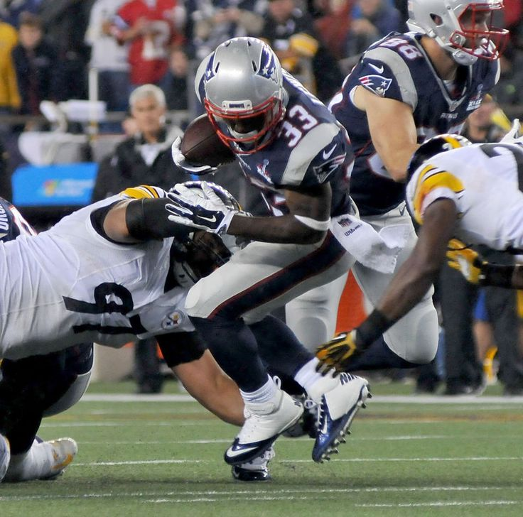 New England Patriots vs Pittsburgh Steelers. Game 1. Sept. 10, 2015 -   MARK STOCKWELL