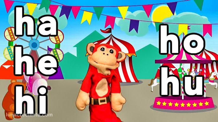 Sílabas ha he hi ho hu - El Mono Sílabo - Videos Infantiles - Educación ...
