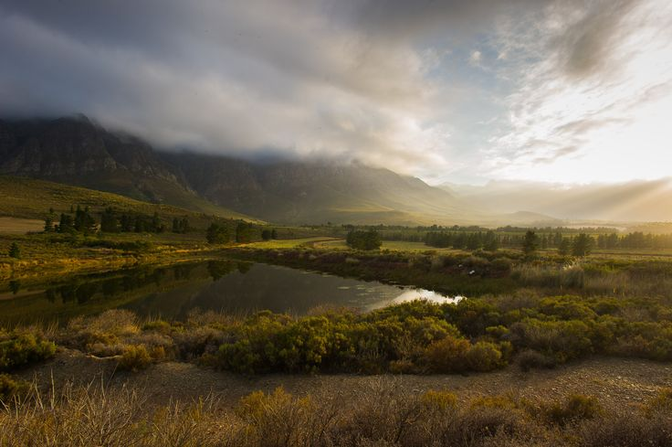 Morning near Worcester, South Africa