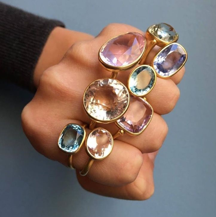 About the extent of rings I would wear if I could. (And if I had these rings.)