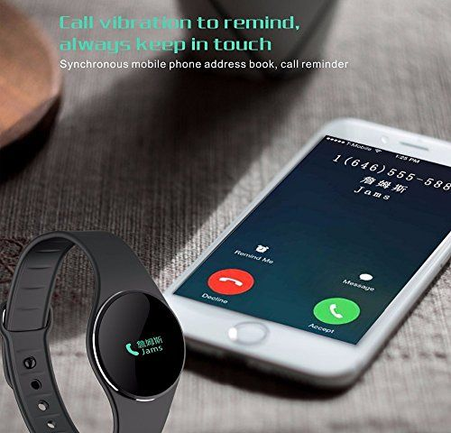Aicarey L16 Smart Bracelet Watch Bluetooth 4.0 SMS Reminder Sleep Tracker Calorie Burning Wristwatch With Charming Colors For Sports   Bluetooth 4.0 technology: Adopt Bluetooth 4.0 technology that it can quickly and efficiently meet the needs of your life.Sleep monitor / Sedentary