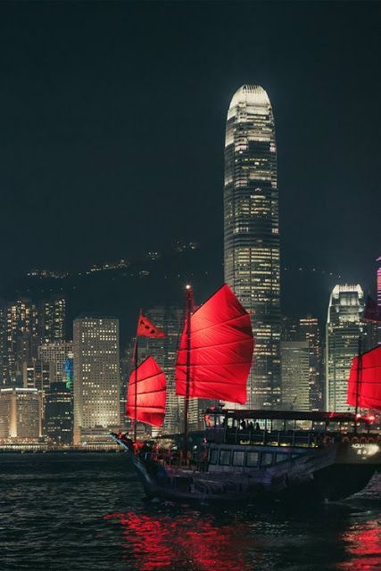 Victoria Harbour, Hong Kong. Hong Kong has an awesome skyline