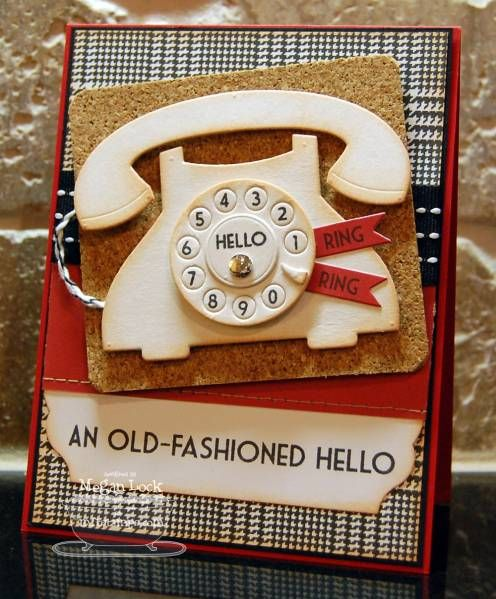 : Crafts Ideas, Cards Ideas, Rings Rings, Handmade Cards, Phones Cards, Locks Design, Paper Crafts, Design Blog, Fashion Hello