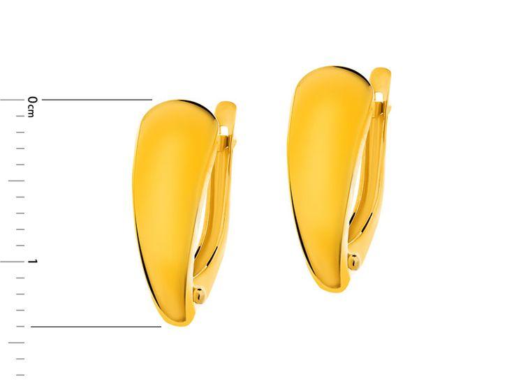 Złote kolczyki - wzór AP123-6840 / Apart