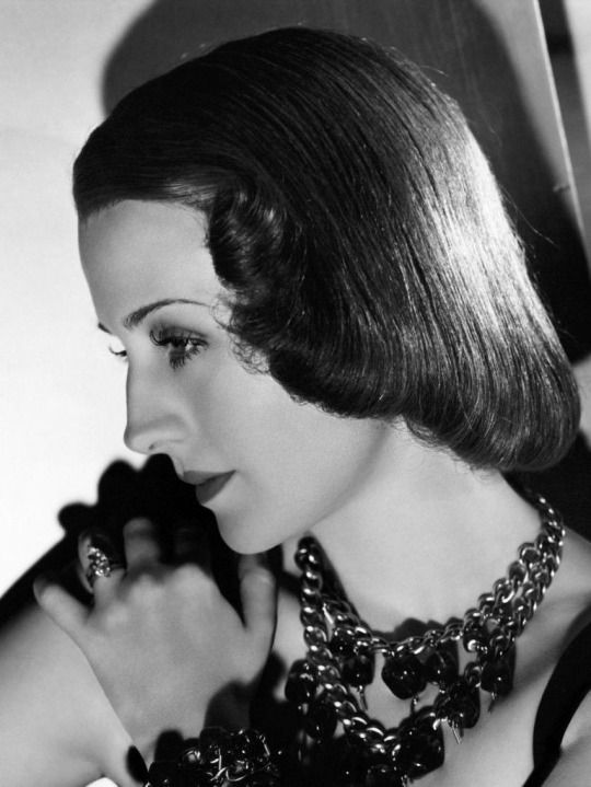 L for legend: Norma Shearer