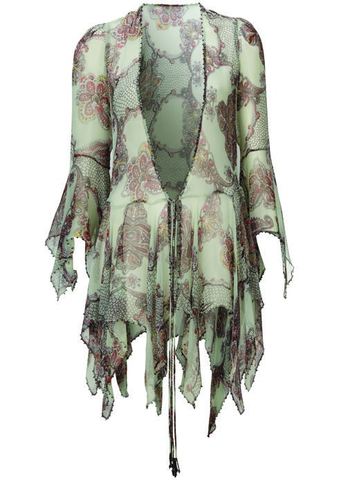 Paisley Witch Blouse, $150: Kate Moss for Topshop | Boca Raton Magazine