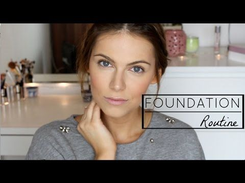 Foundation Routine | HOHE DECKKRAFT | makelloser Teint - YouTube