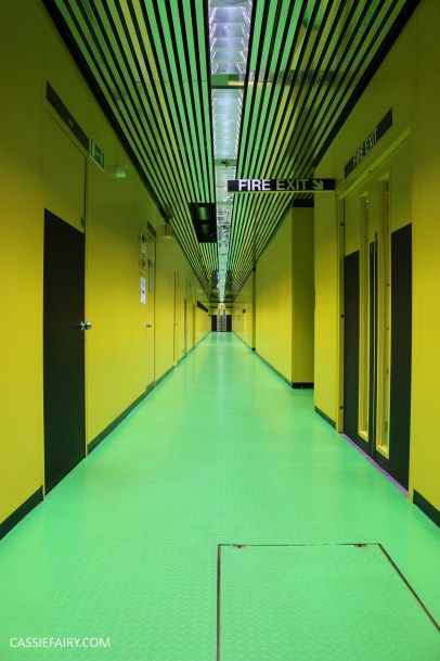 Bright utopian colours inside Norman Foster's Willis Building in Ipswich - A photographic tour of the Grade I listed 1970s architecture & interiors on this blog :)