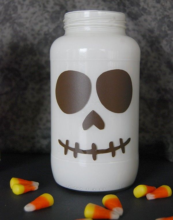 monsterously crazy cute halloween jars - Cute Halloween Decor