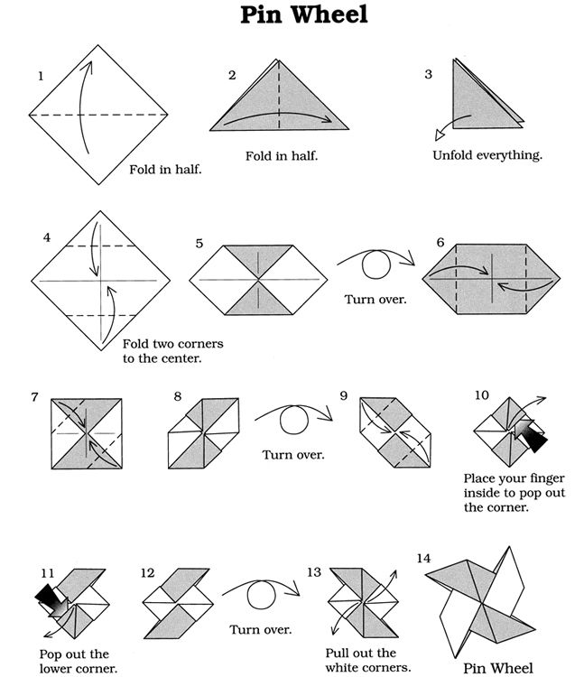 629 best images about origami for kids on Pinterest - photo#7