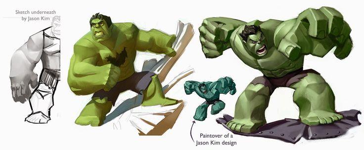 Sam's Tasty Art: Disney Infinity Hulk ★ Find more at http://www.pinterest.com/competing