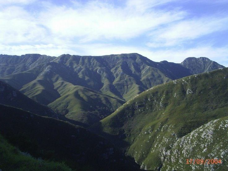 ... of Outeniqua Mountain Pass , George , Western Cape , South Africa