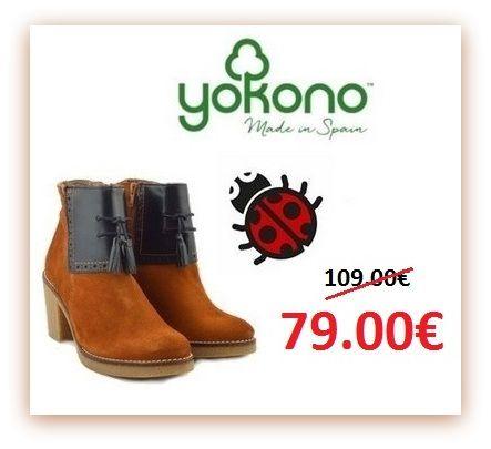Shop now--> https://goo.gl/lU2XpX Μποτακι yokono Δερμάτινο Αεροσολο! Μποτάκι από καστόρ δέρμα και δερμάτινη εσωτερική επένδυση. Το κρεπ τακούνι στους 5 ποντους και η σόλα υπόσχονται άνεση όλη μέρα. www.mylonas-shoes.gr #yokono #sales #winter #woman #boot #shoes