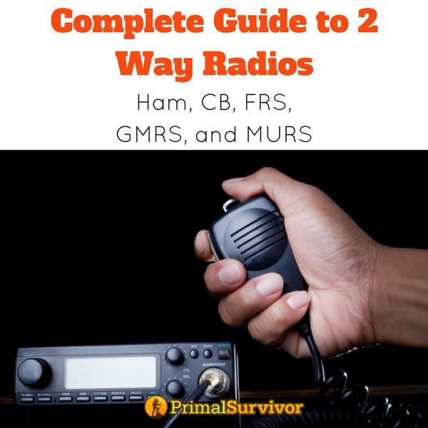 Complete Guide to Two Way Radios for Emergency Communication. | Posted by: SurvivalofthePrepped.com