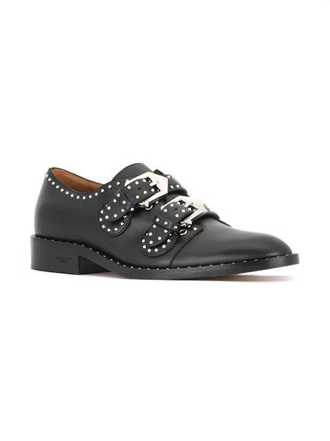 Givenchy туфли с пряжками и заклепками