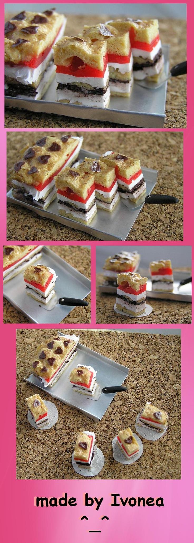 fimo cakes