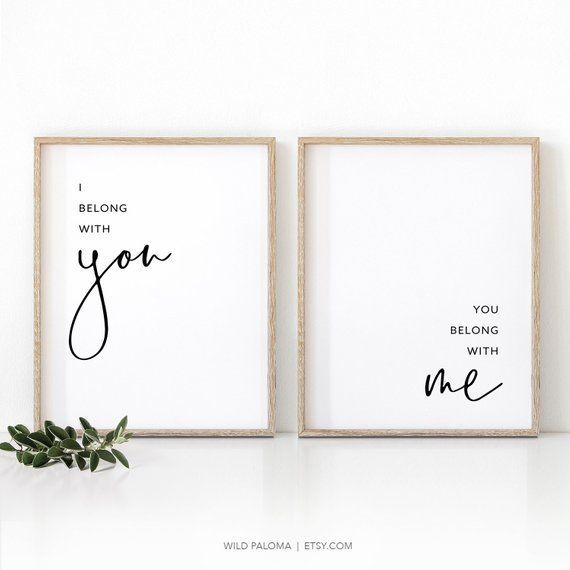 Minimalist Printable Wall Art Poster I Love You …