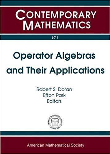 Resultado de imagen de operator algebras and their applications Doran