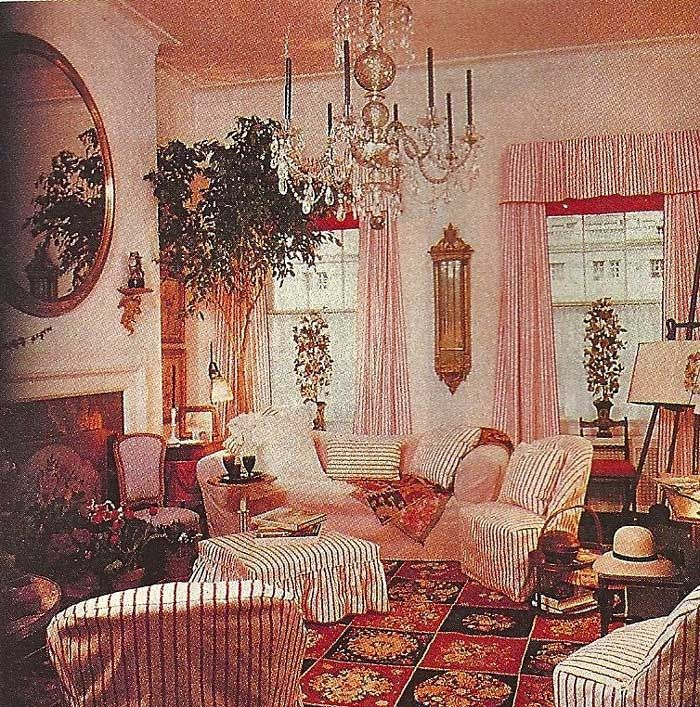 Sister Parrish The Great Designer In Her Pink And White Striped Home Elegant Additions Is SO LUCKY To Be Working On Original Apartment NYC With
