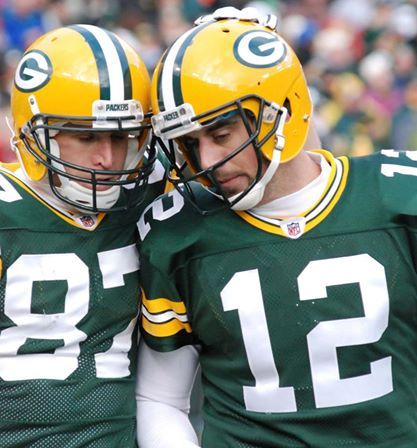 LOVE LOVE THESE GUYS!  GO PACK GO!!     Aaron and Jordy: Best duo in the NFL