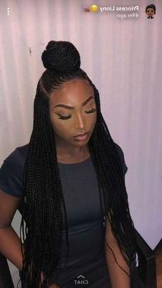 35 Pretty Box Braids for Black Women 2019