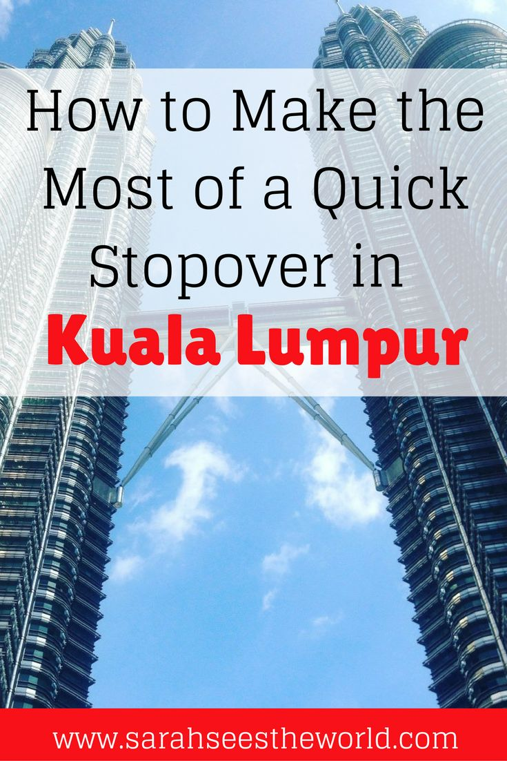In only 9 hours between my flight, I was able to explore some of Kuala Lumpur. Check out my tips to getting into the city quickly and what sights to see on a stopover in Kuala Lumpur. Save this to your travel board to help you plan your trip!