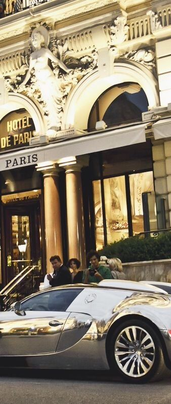 Hotel De Paris. This hotel is actually in Monte-Carlo, Monaco. But it's on the French Riviera, so I'm cheating.