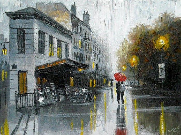 картины с дождем - 06