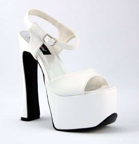 Hot White High Heel Shoes