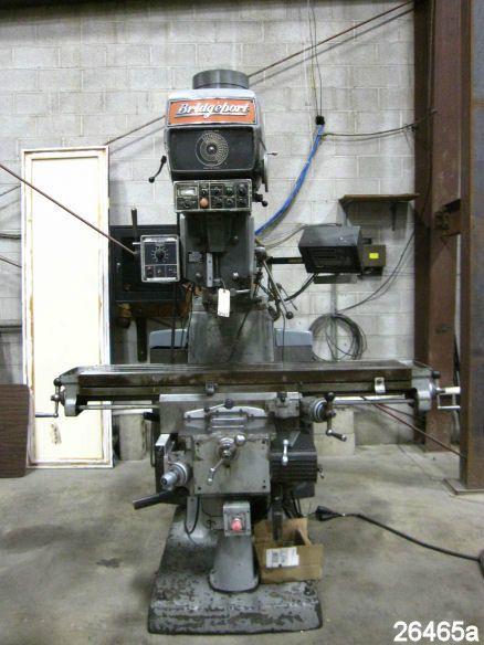 4 HP Bridgeport Vertical Milling Machine - Series II
