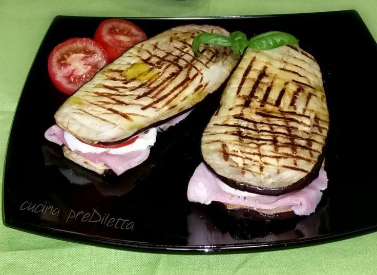 Sandwich di melanzane, ricetta, cucina preDiletta
