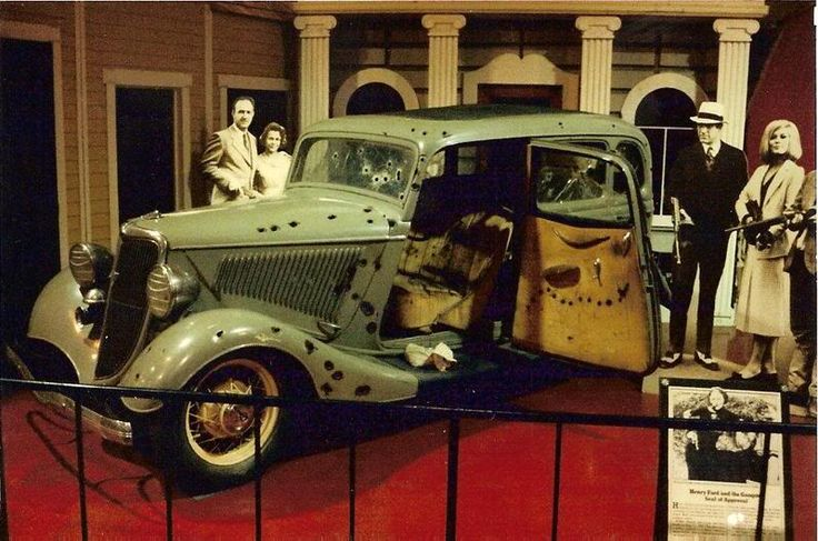 bonnie and clyde car | Bonnie and Clyde Getaway Car hotels in Primm, Nevada