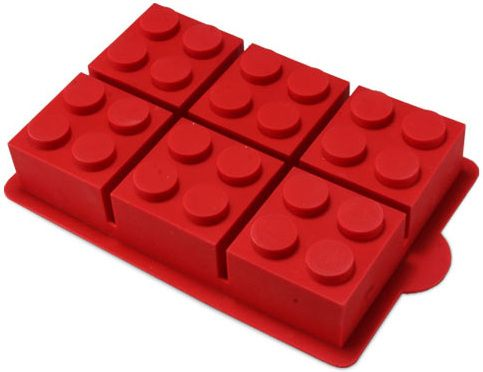 Silicon Lego Cakepan make legos out of chocolate, Jello, ice, cake, cheese or ??? What other ways can you think of make food more fun with this great pan? OR soap or other crafts...please share your ideas with me!