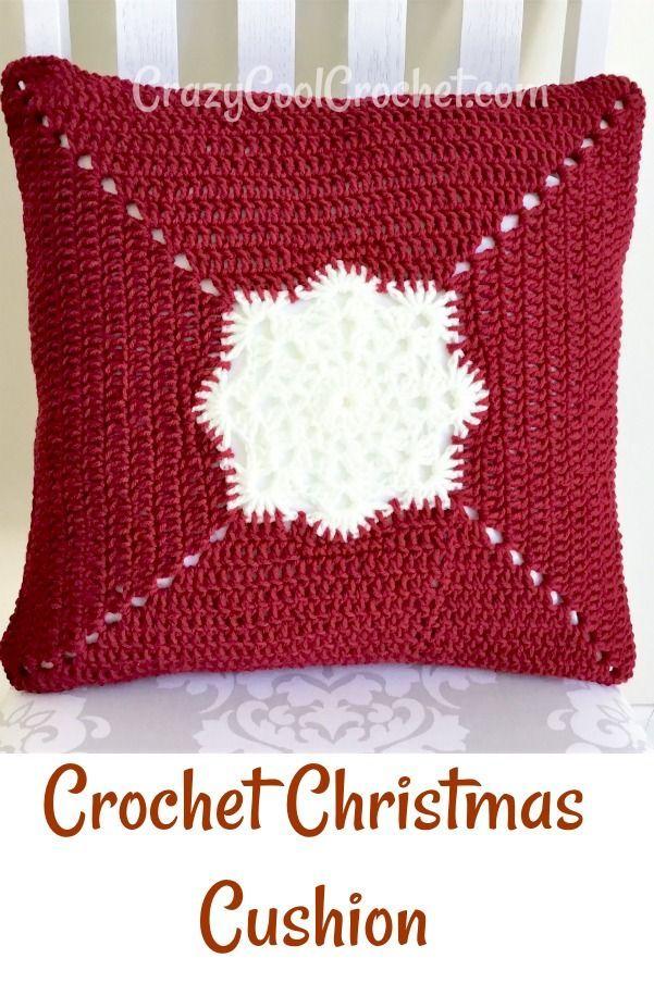 Your Crochet Christmas 2020 Cool Crochet Christmas Pillow   Crazy Cool Crochet in 2020