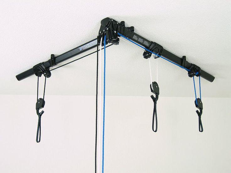 устройство для крепления велосипеда к потолку