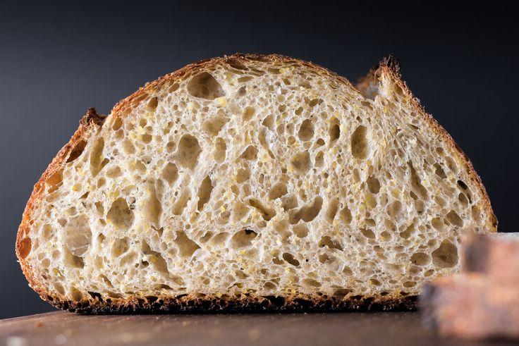 ... bread board bread baking polenta kind of forward my polenta rosemary