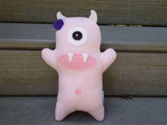 Stuffed Monster Oops Clearance Toys by FranconiaRidgeStudio, $11.00