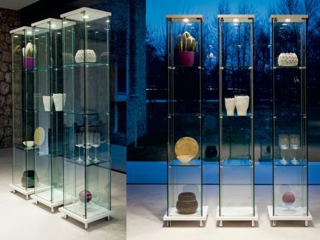 Cattelan Italia beleuchtete Glas-Vitrine Mini Decor kaufen im borono Online Shop